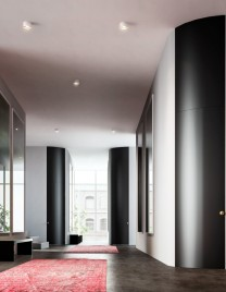 01.Linvisibile_Alba_Curved Hinged door_Lacquer finish