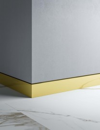 01.Linvisibile_Orizzonte_Skirting System_Light bronze anodised aluminium finish